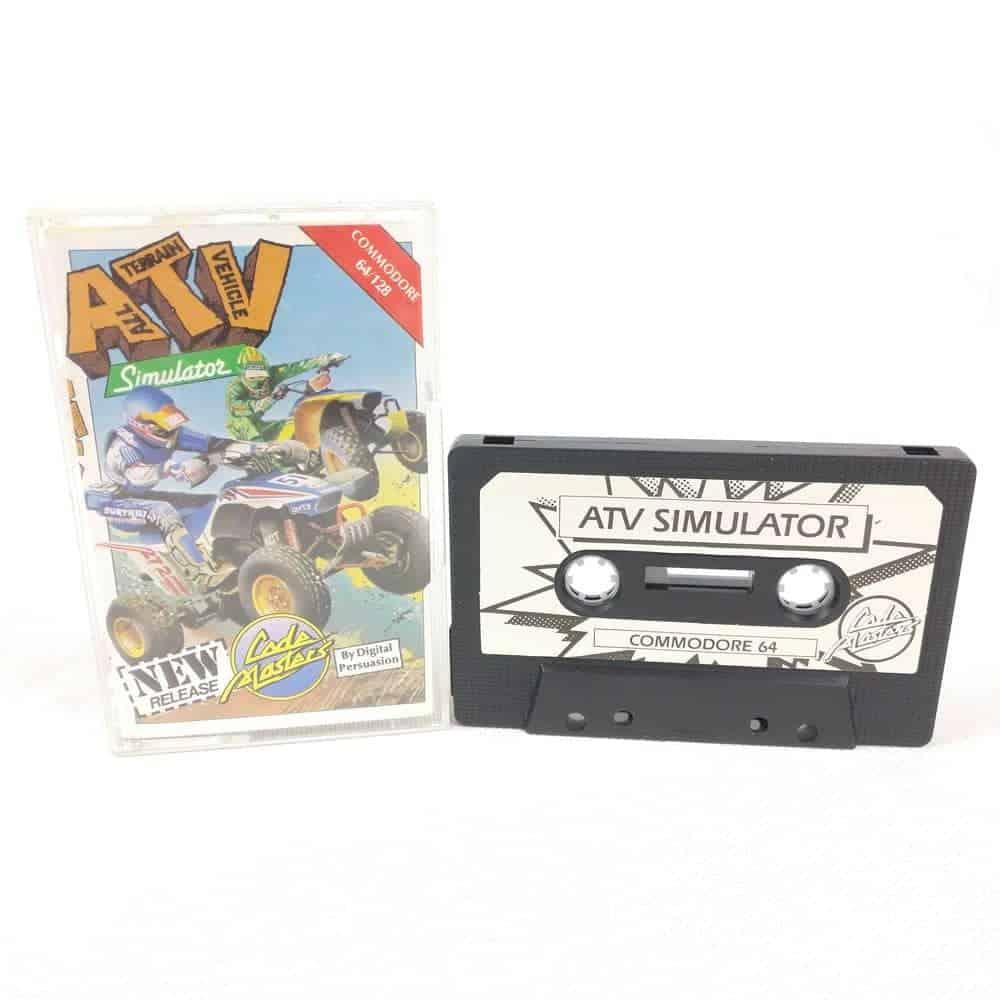 ATV Simulator (Commodore 64 Cassette)