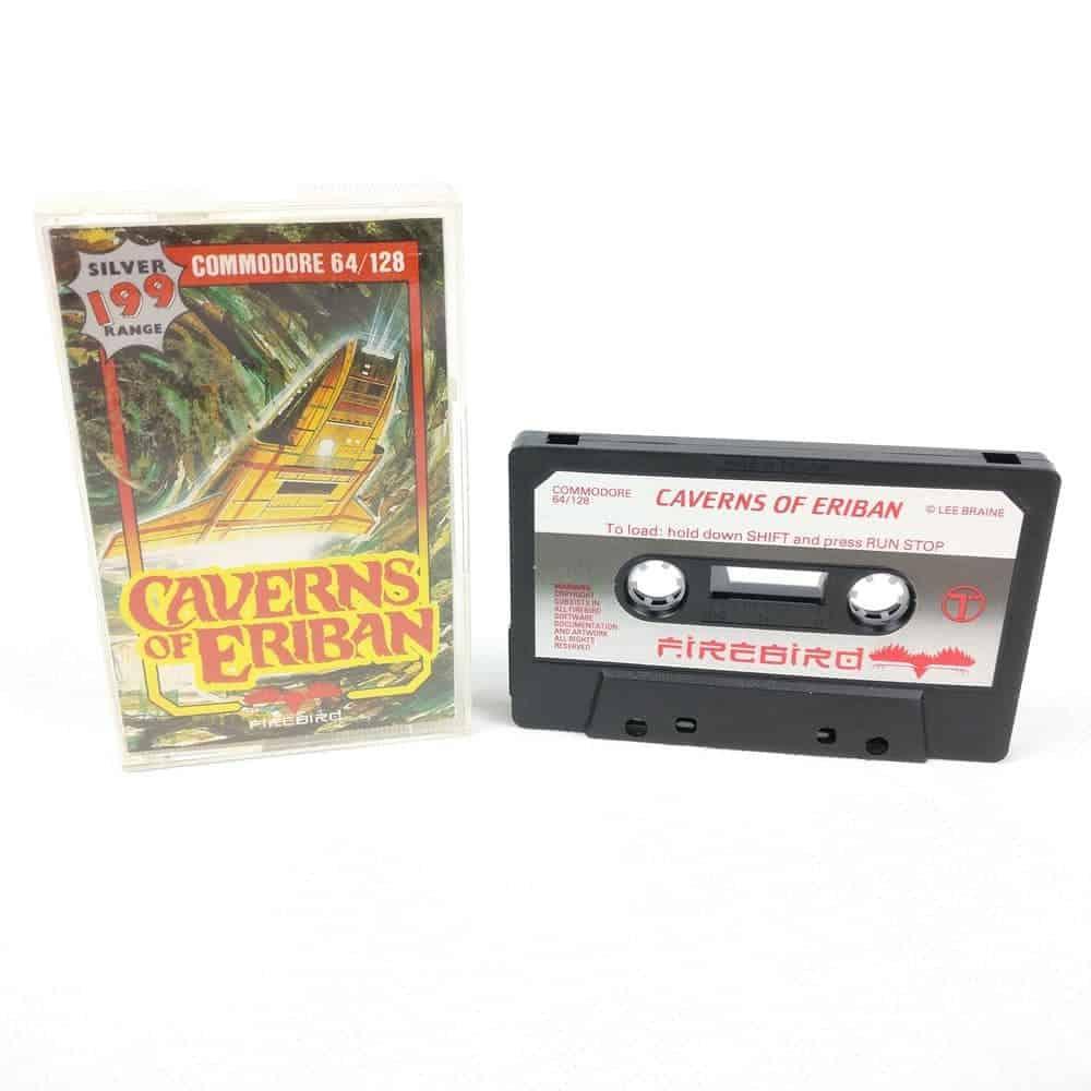 Caverns of Eriban (Commodore 64 Cassette)