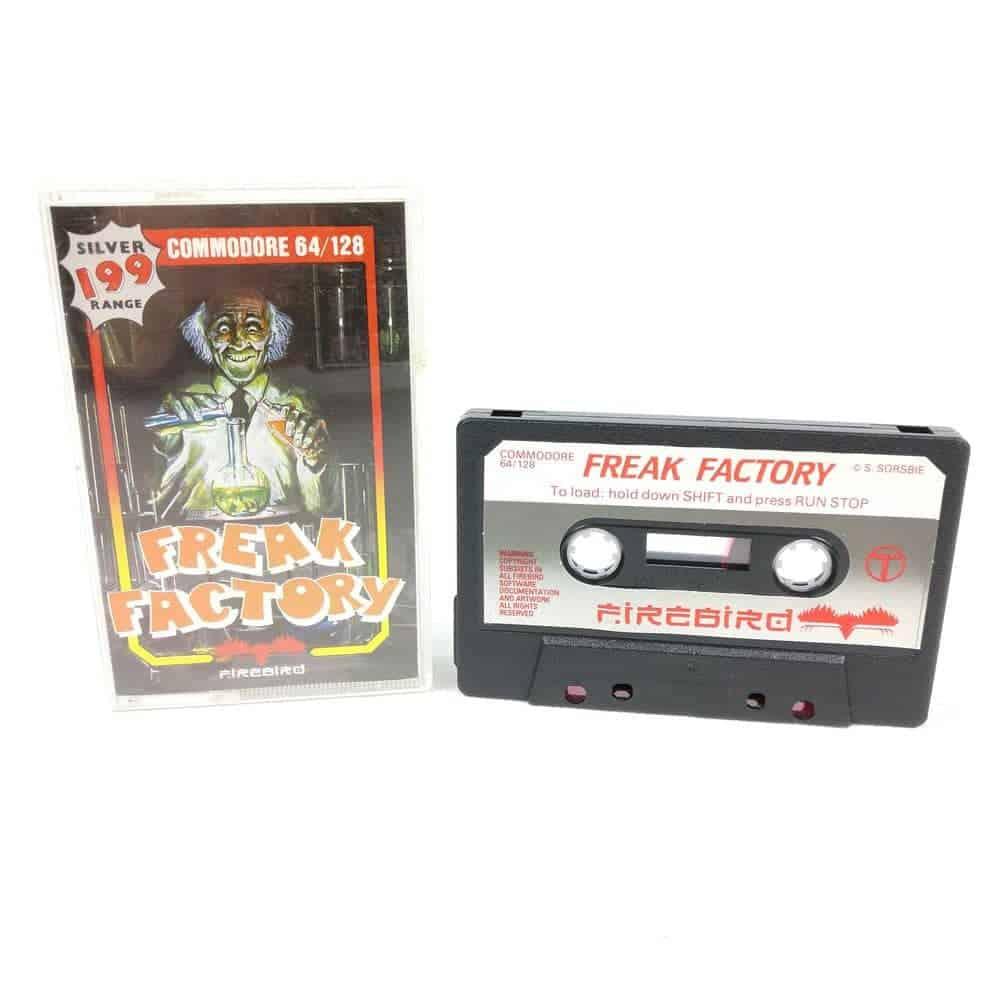 Freak Factory (Commodore 64 Cassette)