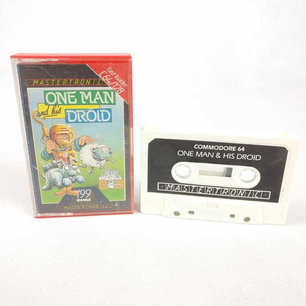 One Man and His Droid (Commodore 64 Cassette)