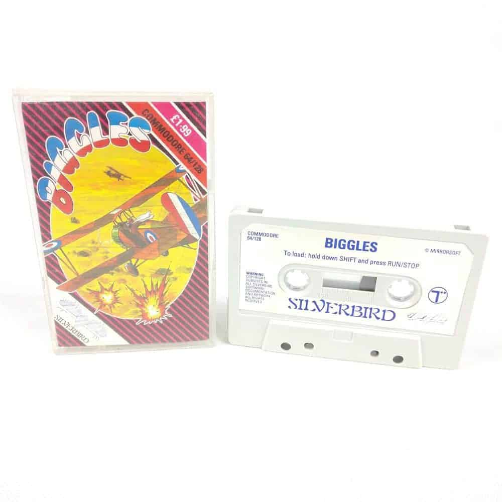 Biggles (Commodore 64 Cassette)
