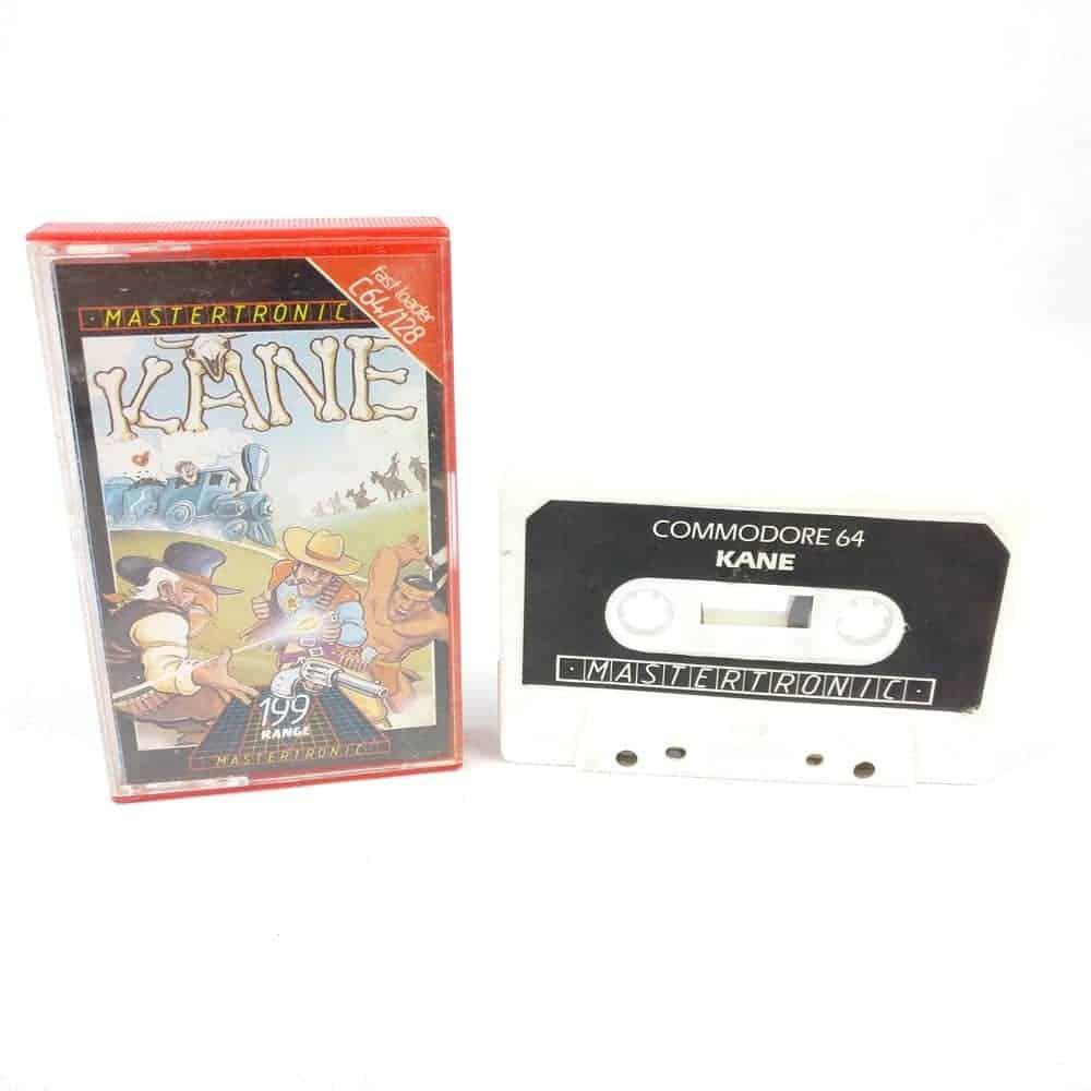 Kane (Commodore 64 Cassette)