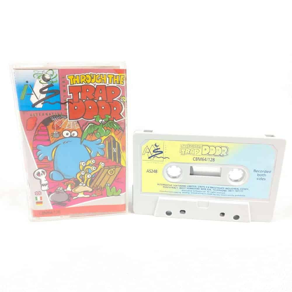 Through the Trap Door (Commodore 64 Cassette)