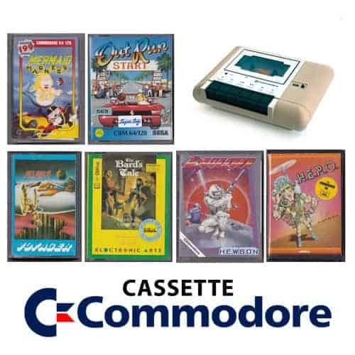 Commodore 64 Spil/Software (Kassettebånd)