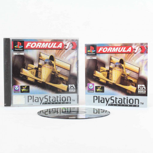 Formula One (Playstation 1 - Platinum)