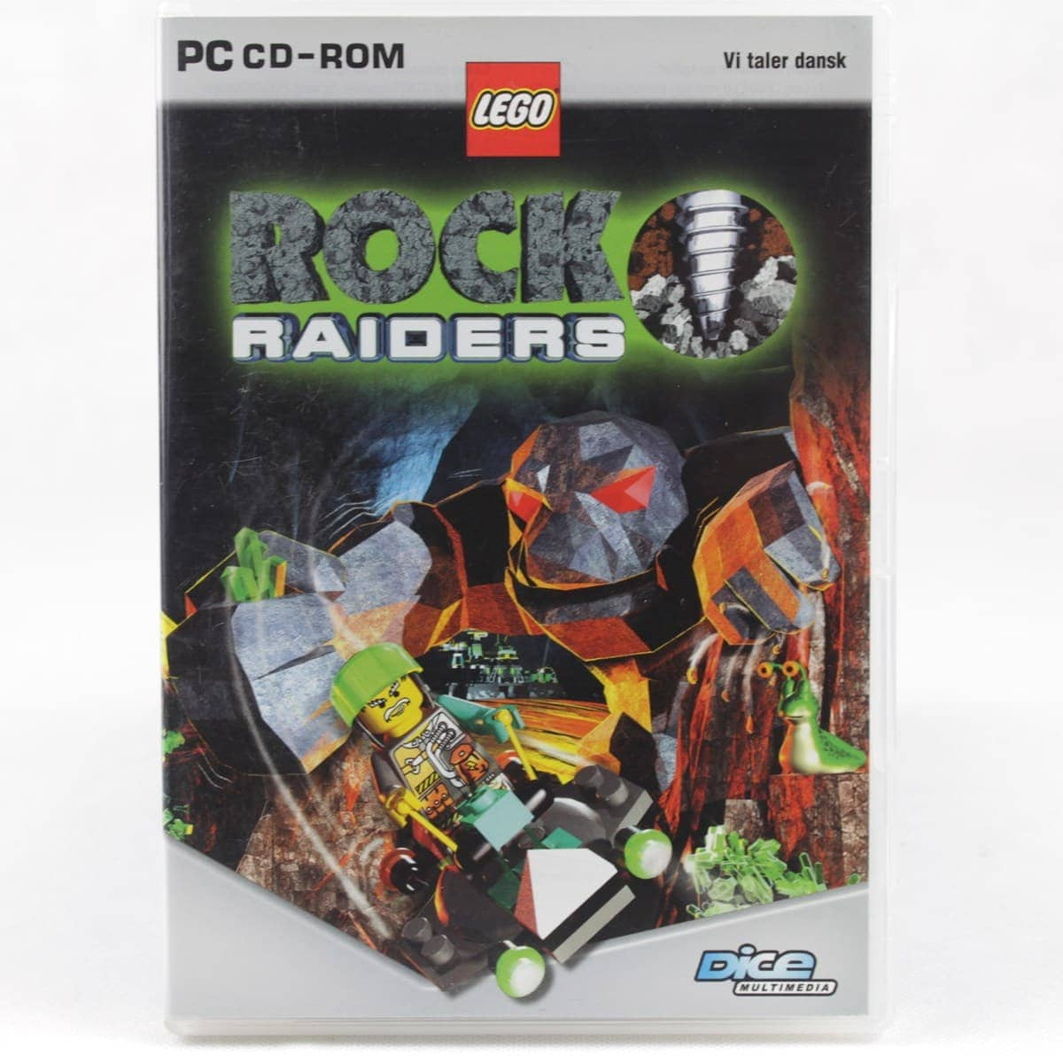 LEGO Rock Raiders (PC - Dansk)
