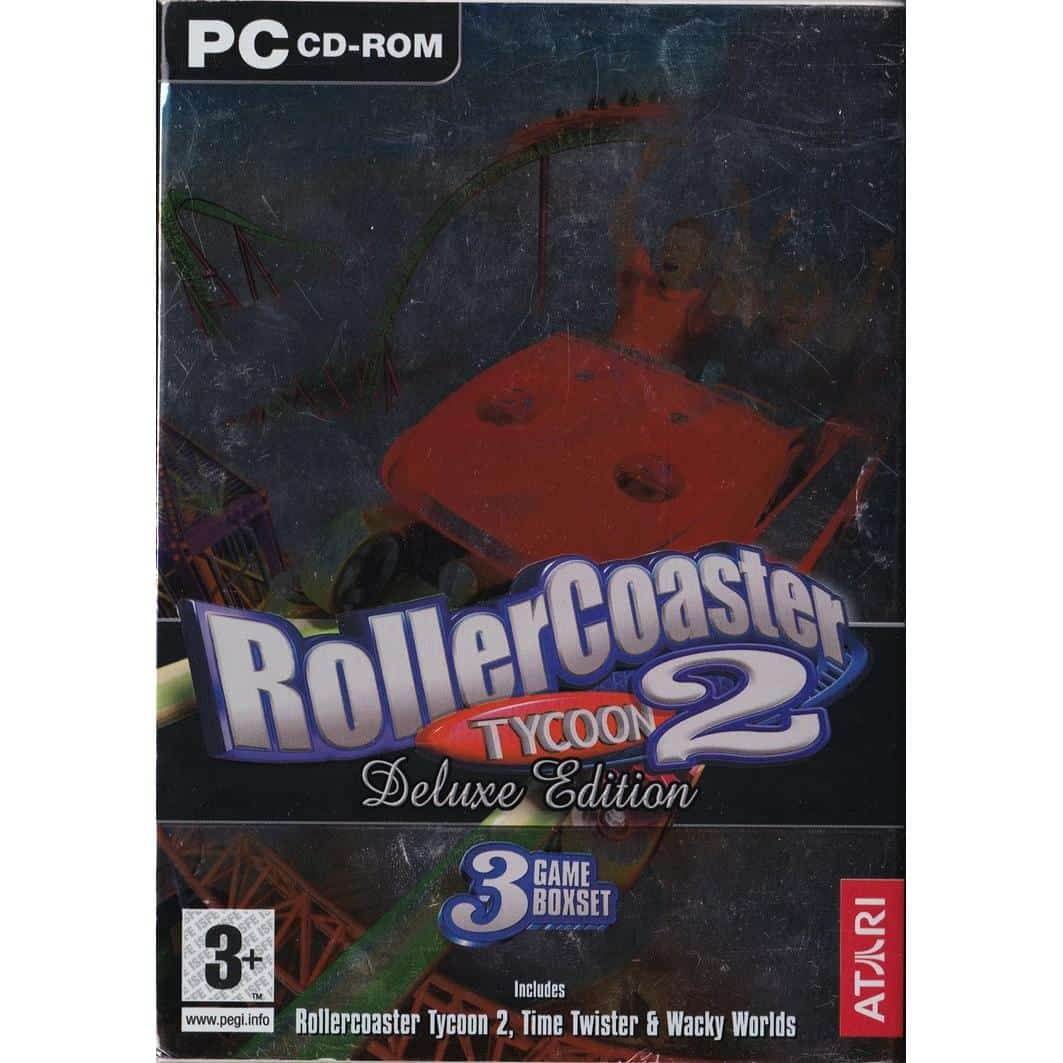 rollercoaster tycoon 2 deluxe edition no cd