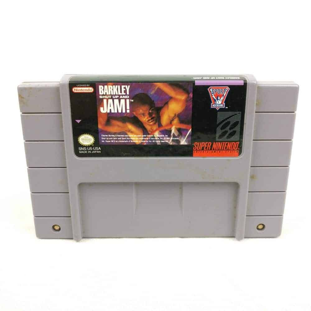 Barkley: Shut Up and Jam! (SNES, USA)