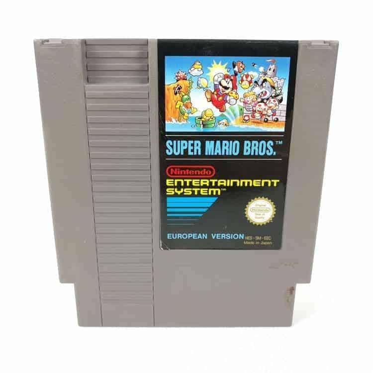 Super Mario Bros. (Nintendo NES - SCN)