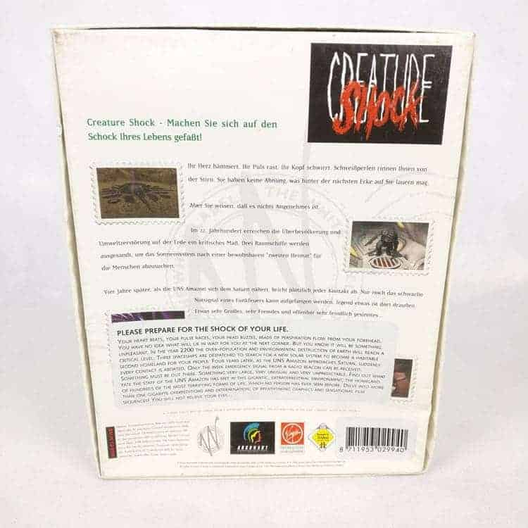 Creature Shock (PC Big Box)