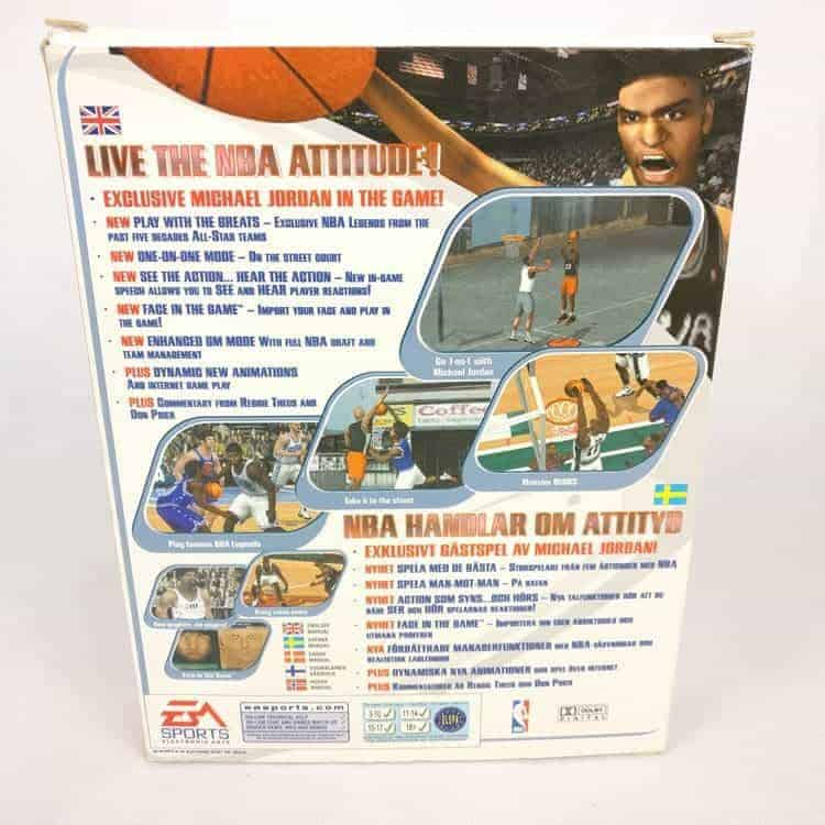 NBA Live 2000 (PC Big Box)