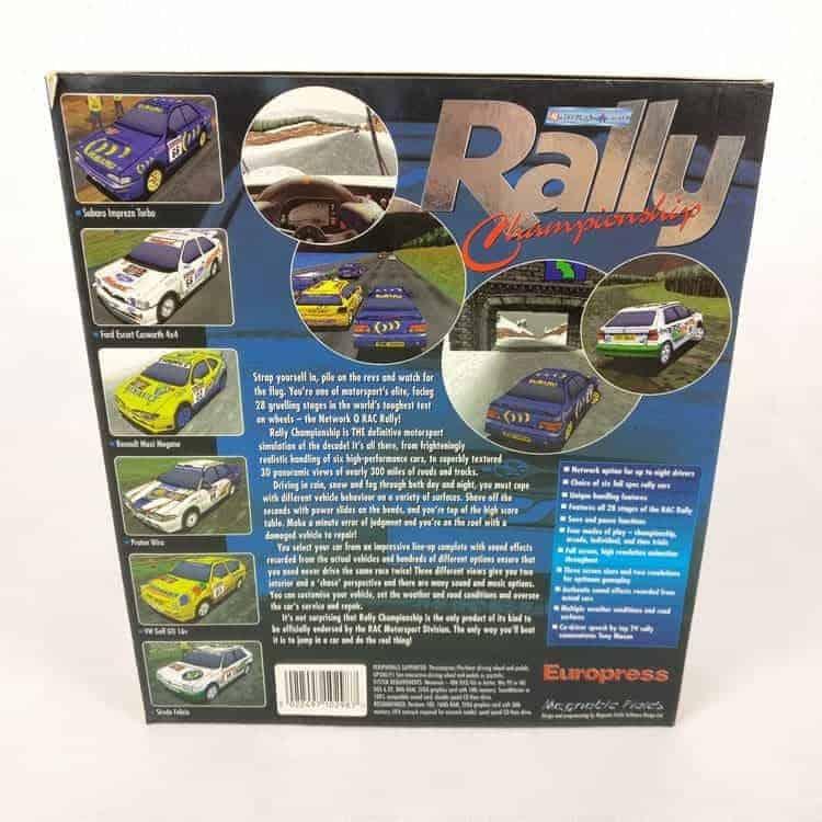 Network Q RAC Rally Championship (PC Big Box)