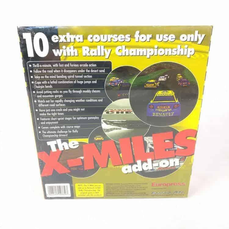 Rally Championship: The X-Miles add-on (PC Big Box)