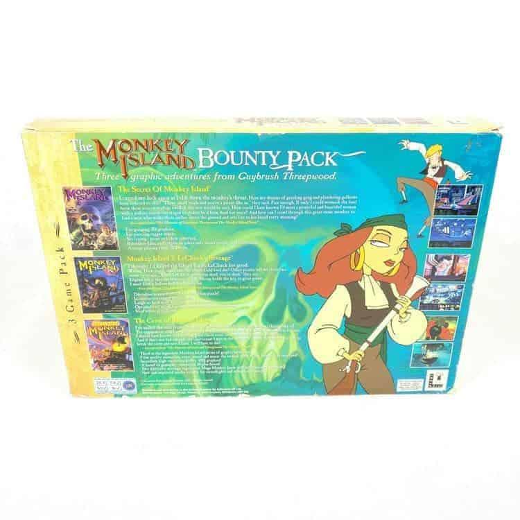 The Monkey Island Bounty Pack (PC Big Box)
