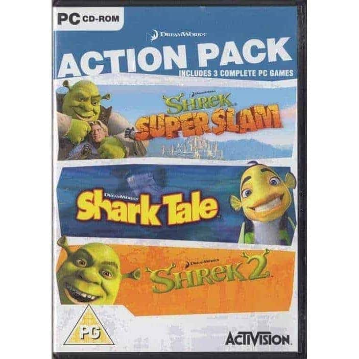 Action Pack - Shrek: Super Slam, Shark Tale, Shrek 2 (PC)
