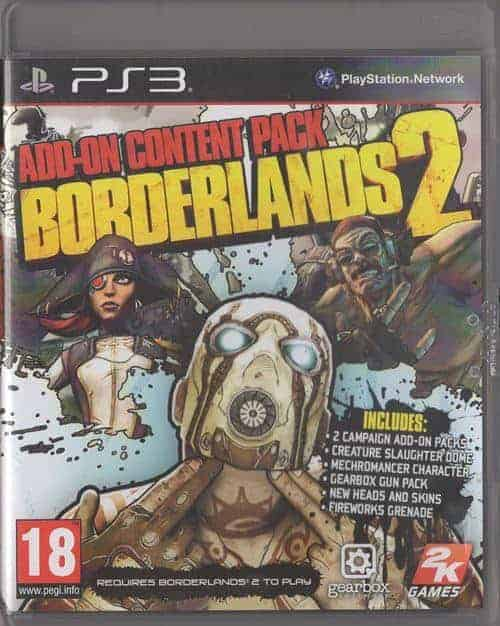Borderlands 2: Add-on Content Pack (Playstation 3)