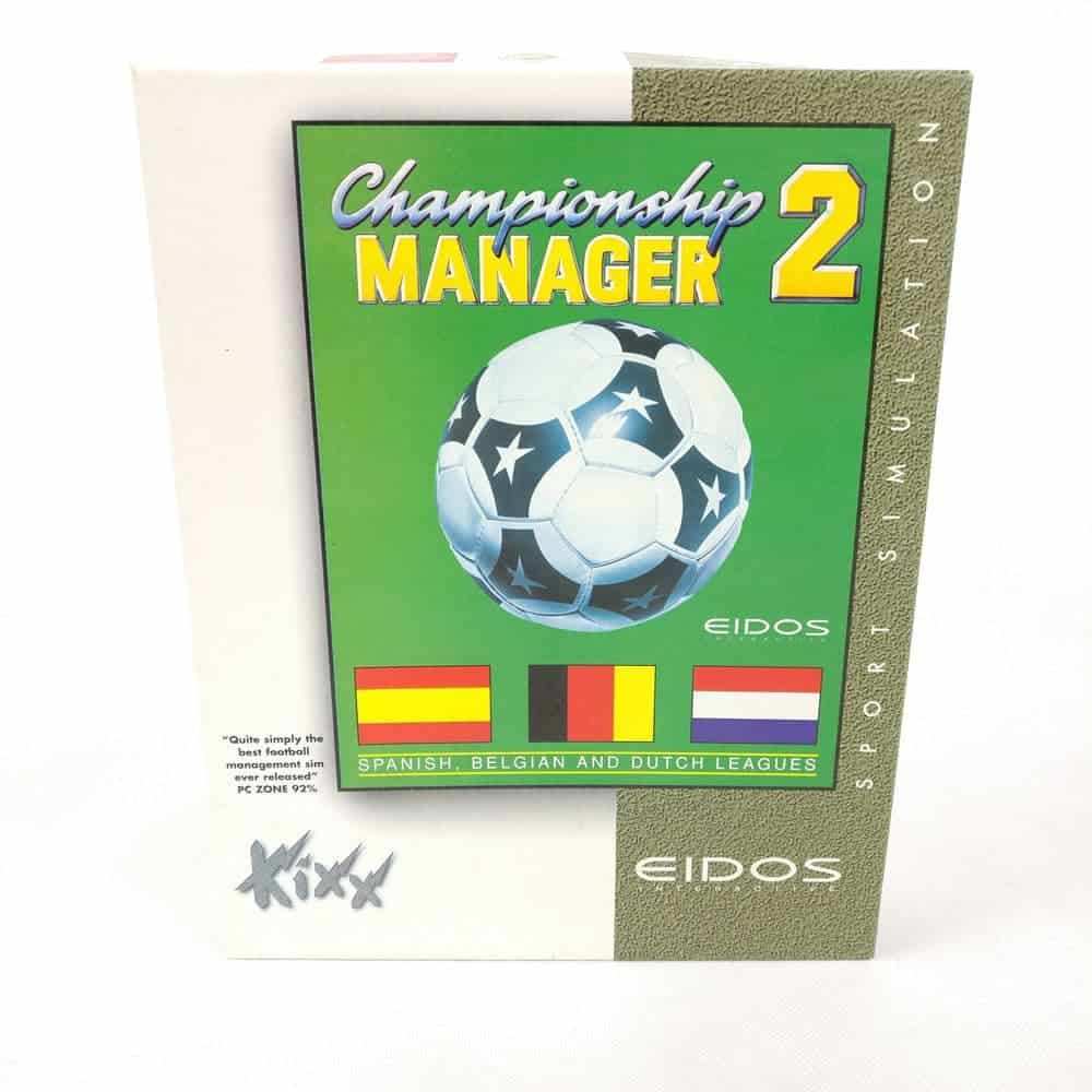 Championship Manger 2 - Spanish, Belgian and Dutch Leagues (PC Big Box)
