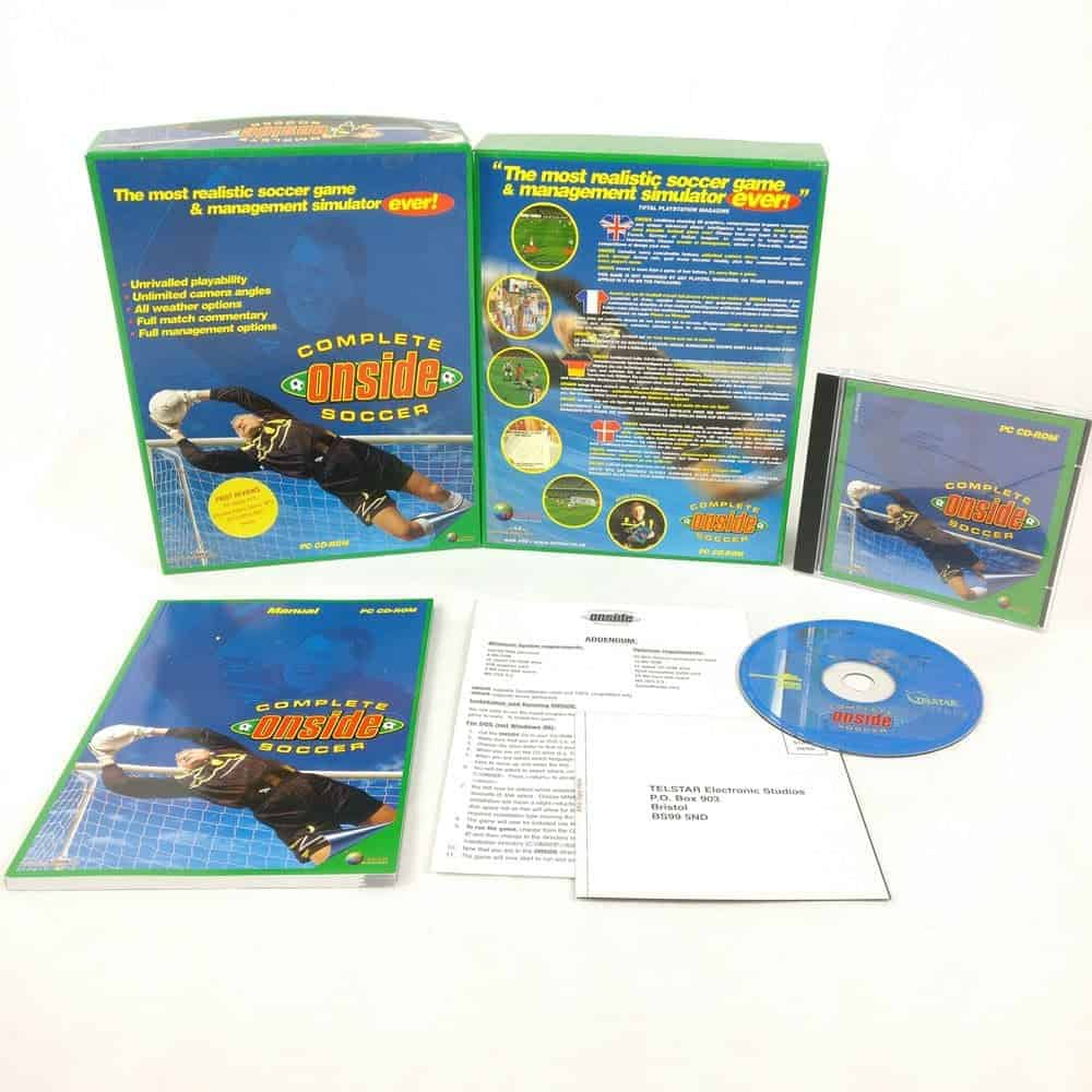 Complete Onside Soccer (PC Big Box)