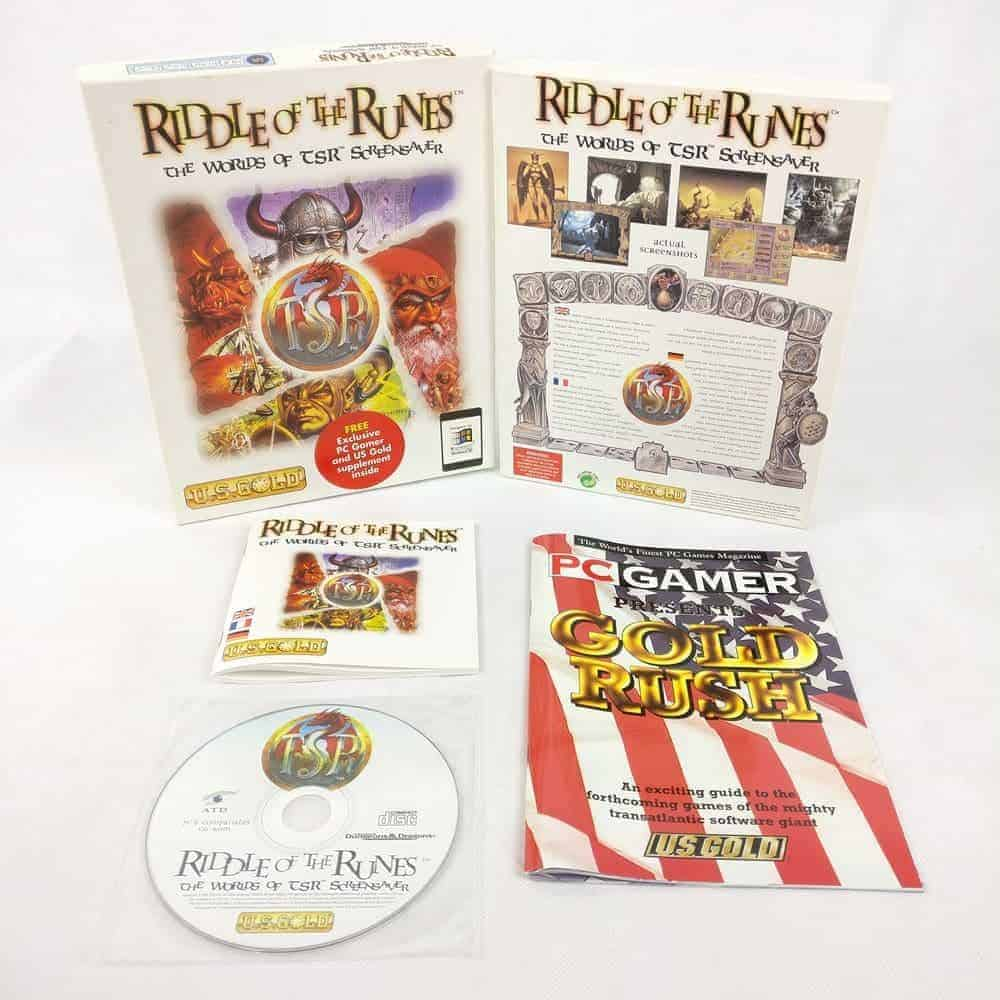 Riddle of the Runes: The World of TSR Screensaver (PC Big Box)