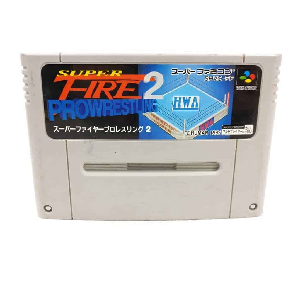 Super Fire Pro Wrestling 2 (Super Famicom / JPN)