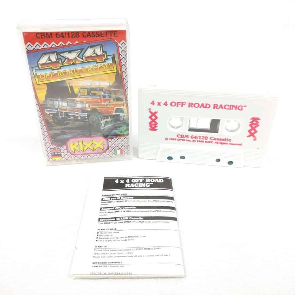 4x4 Off-Road Racing (Commodore 64 Cassette)