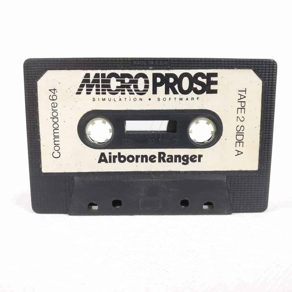 Airborne Ranger (Commodore 64 Cassette)