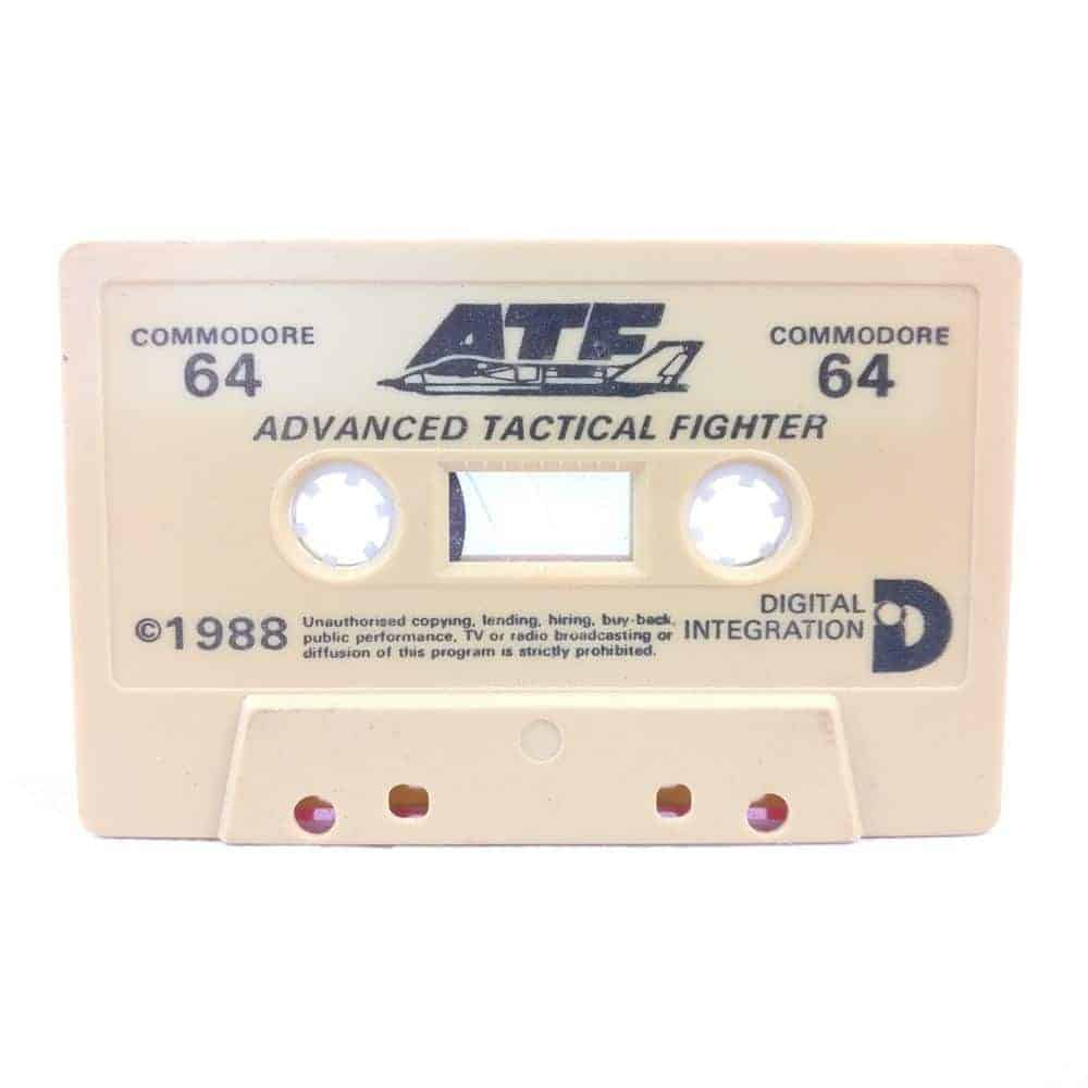 ATF: Advanced Tactical Fighter (Commodore 64 Cassette)