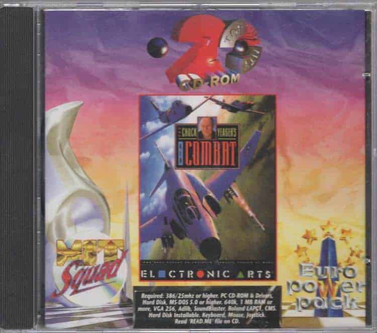 Chuck Yeager's Air Combat (PC)