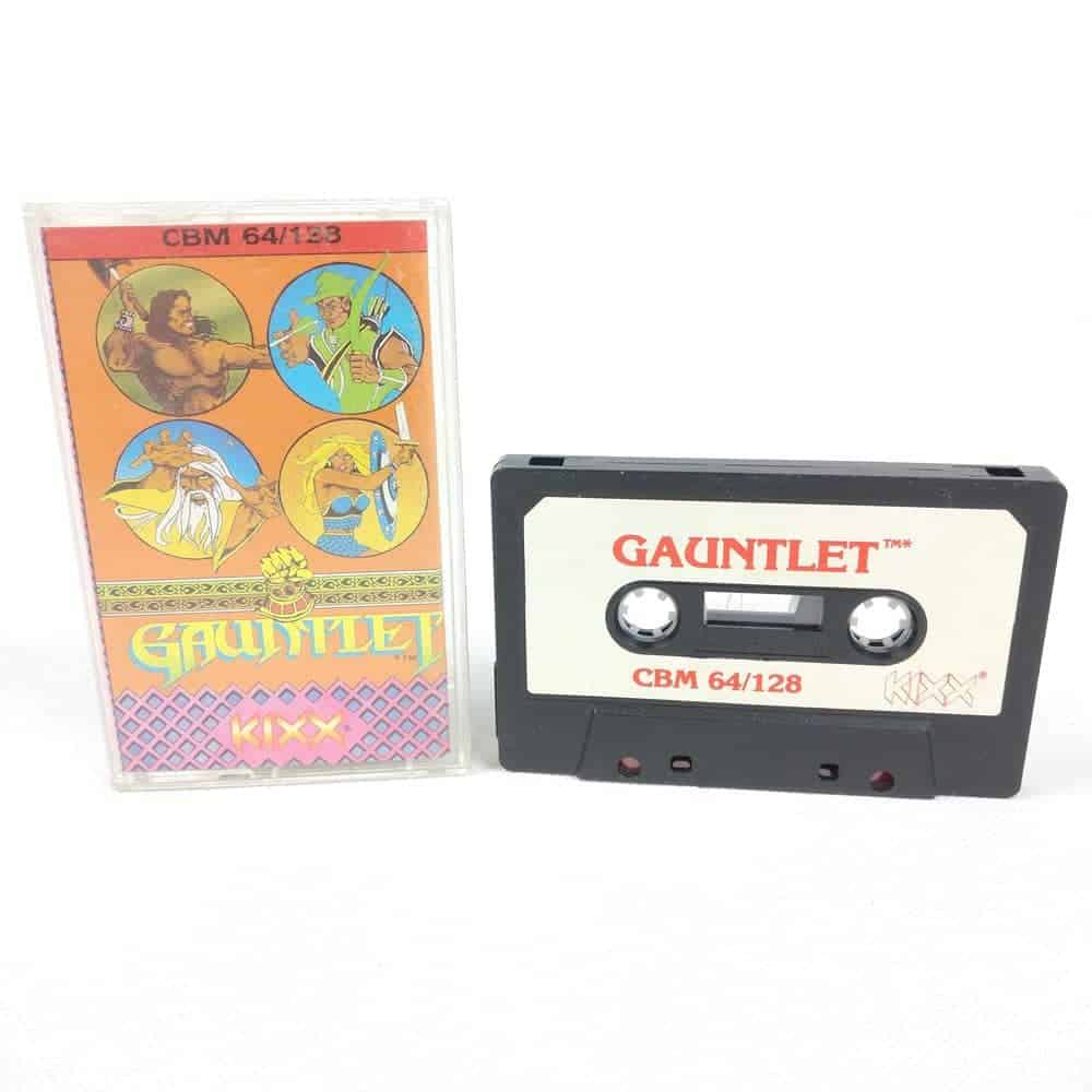 Gauntlet (Commodore 64 Cassette)