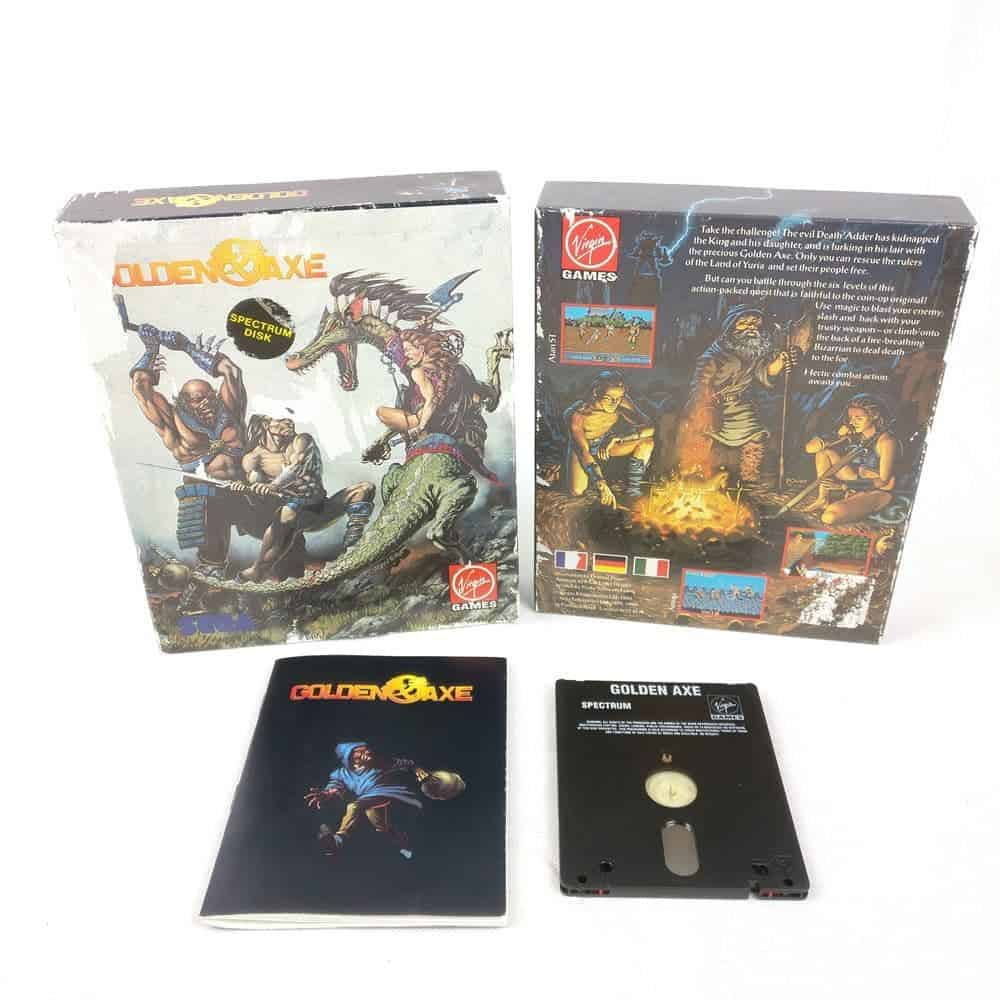 Golden Axe (Spectrum Disk)