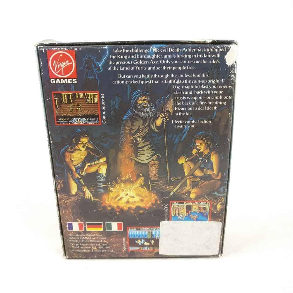 Golden Axe (Sinclair ZX Spectrum) inkl. plakat