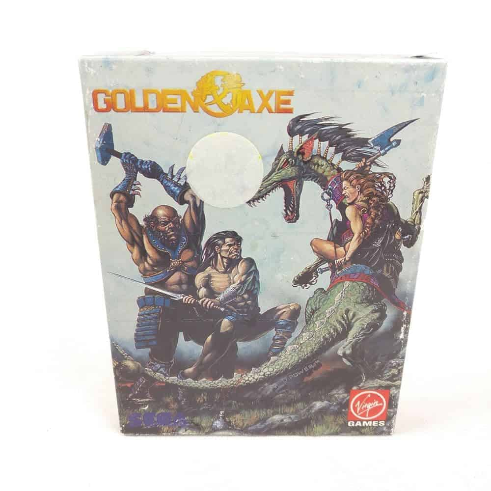 Golden Axe (Sinclair ZX Spectrum) inkl. plakat