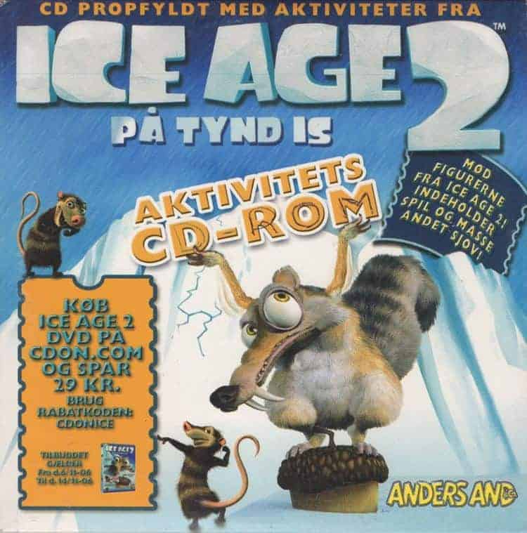 Ice Age 2: På Tynd Is - Aktivitets CD-Rom (PC)
