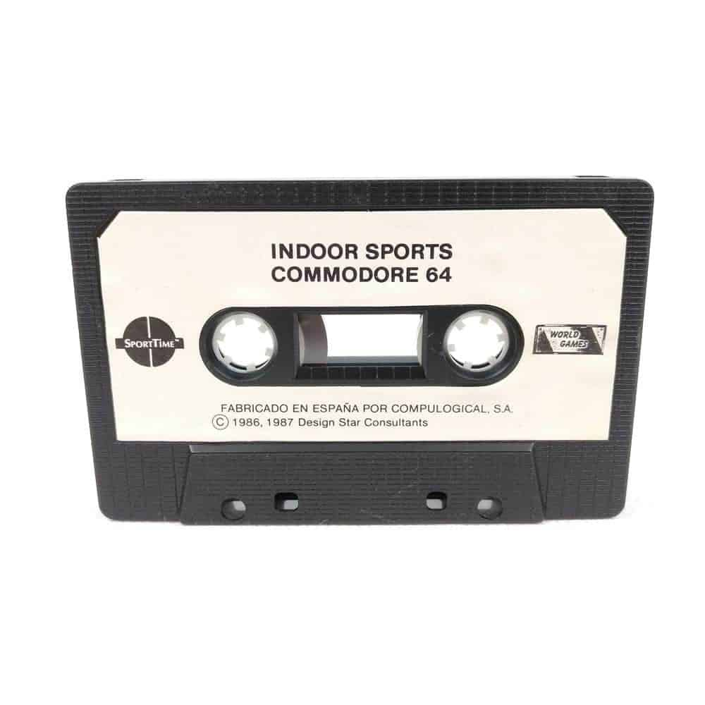 Indoor Sports (Commodore 64 Cassette)