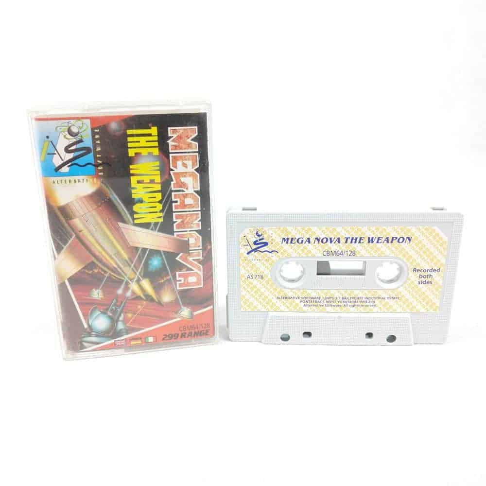 Meganova: The Weapon (Commodore 64 Cassette)