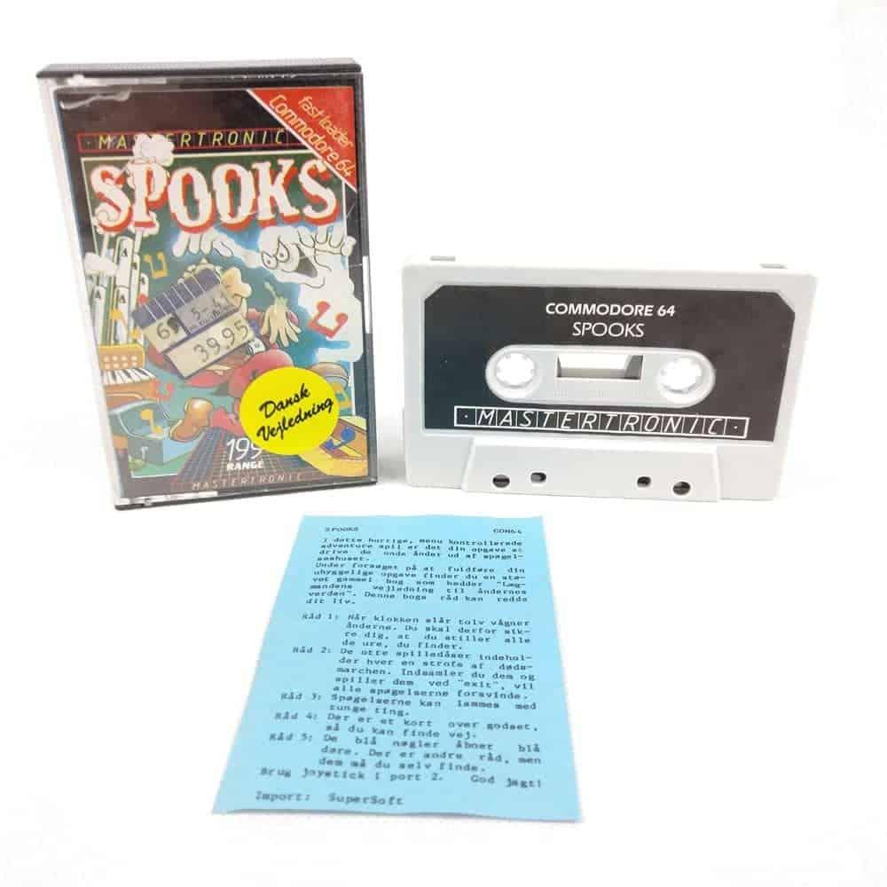 Spooks (Commodore 64 Cassette)