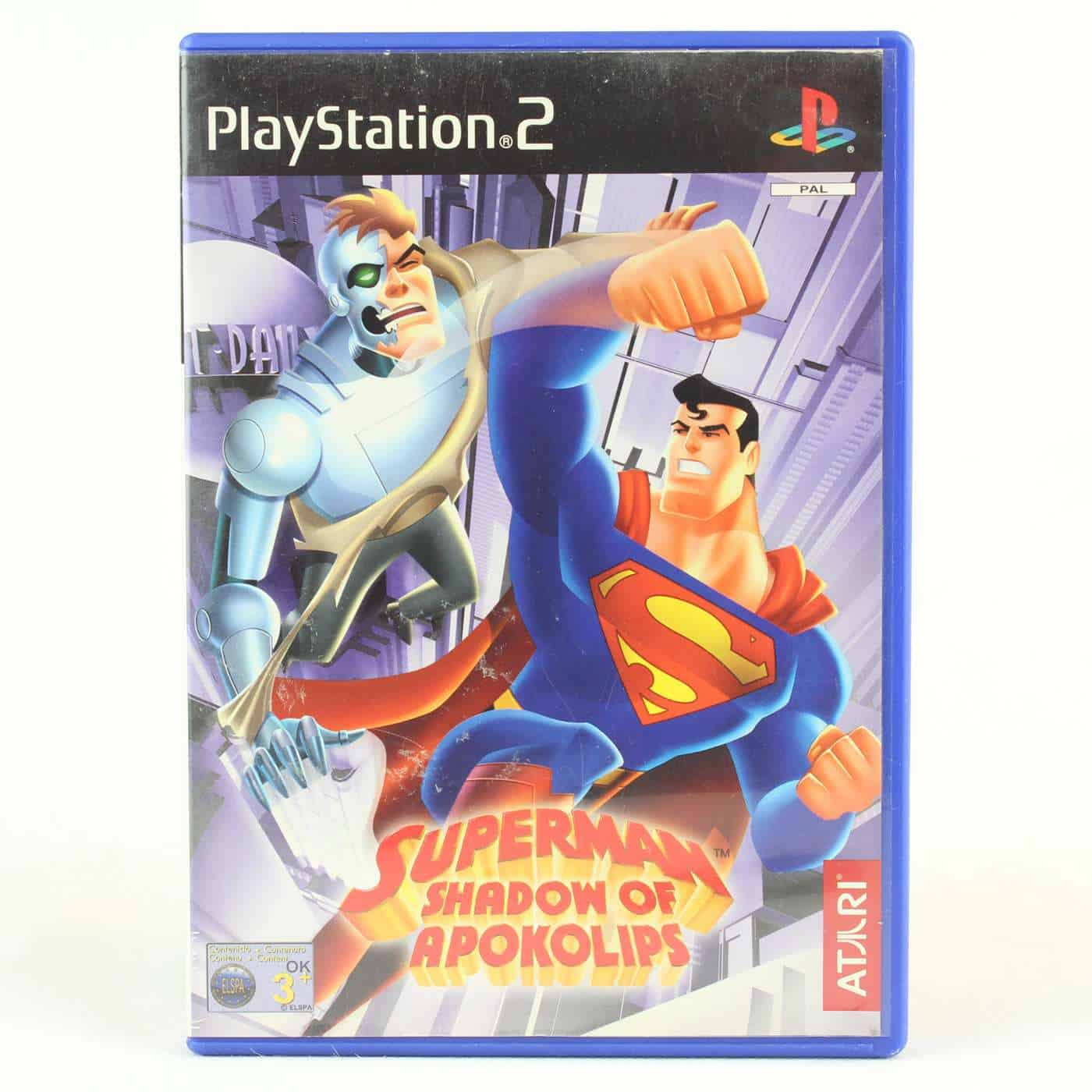 Superman: Shadow of Apokolips (Playstation 2 / PS2)