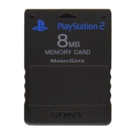 Sony 8MB Memory Card til Playstation 2 - Sort