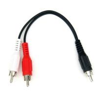Y-Splitter kabel til Amiga Modulator