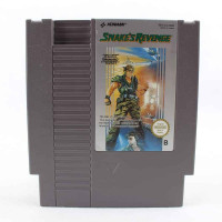 Snake's Revenge (Nintendo NES, PAL-B, SCN)