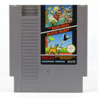 Super Mario Bros. / Duck Hunt (Nintendo NES, PAL-B, SCN)