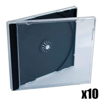 10x CD Jewelcase
