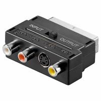 Scart Adapter m. S-Video