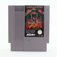 Swords and Serpents (NES, PAL-B, SCN)