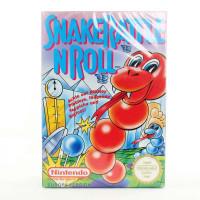 Snake Rattle N Roll (Nintendo NES, CIB, PAL-B, Sealed)