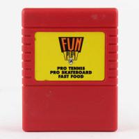 Fun Play 64 (C64 Cartridge) - Pro Tennis / Pro Skateboard/ Fast Food