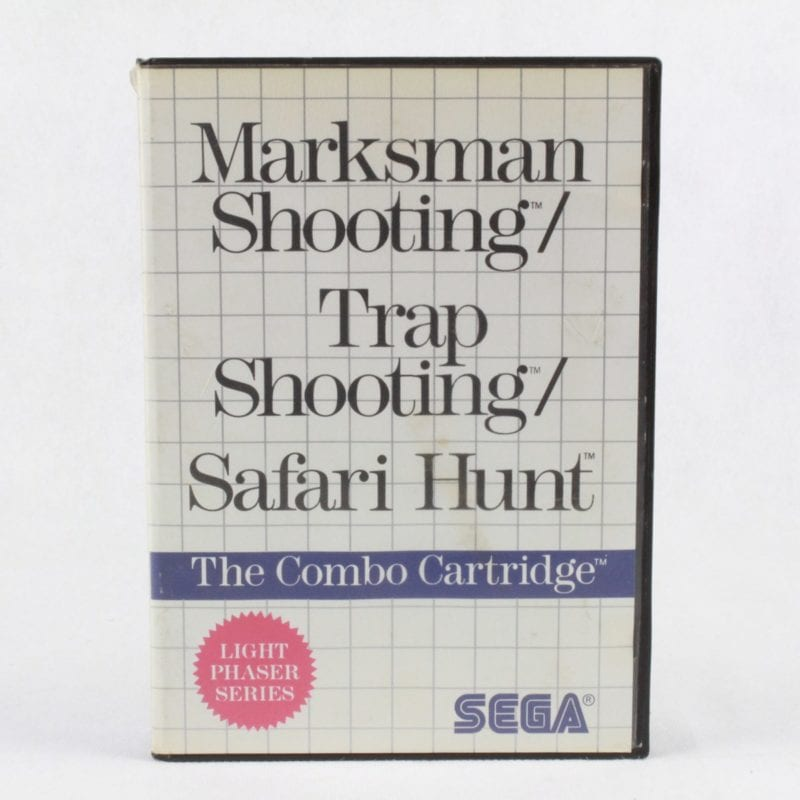 Marksman Shooting / Trap Shooting / Safari Hunt (SEGA Master System)