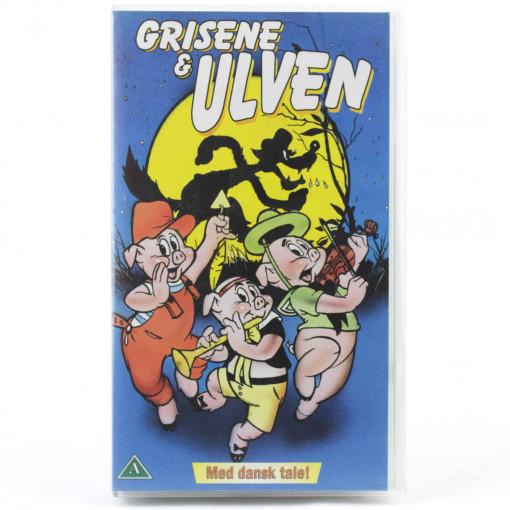 Grisene & Ulven (VHS - Dansk tale)