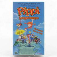 Pippe Langstrømpe (VHS - Dansk tale)