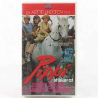 Pippi stikker af (VHS - Dansk fortæller/tekst)